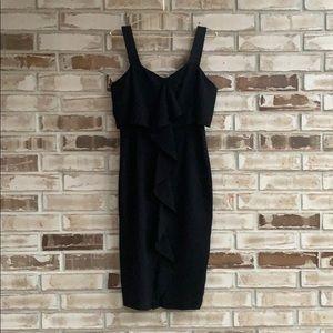 Adrianna Papell • Ruffle Front Dress Sz 10
